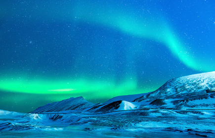 Специален Звезден Полет за наблюдение на Северното сияние